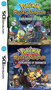 Pokemon Mystery Dungeon Explorers of Time/Darkness =DD